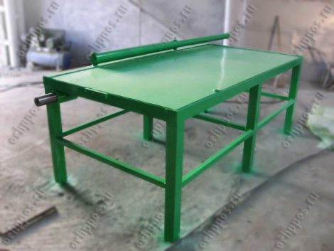 Table for tinsmith