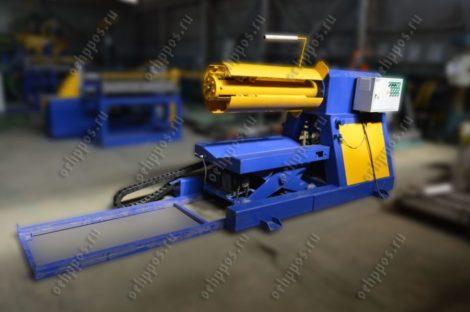 Hydraulic decoiler РКГ10